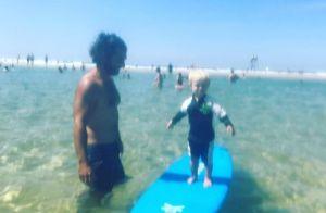Natasha St-Pier à la plage avec son fils Bixente : L'adorable photo de vacances