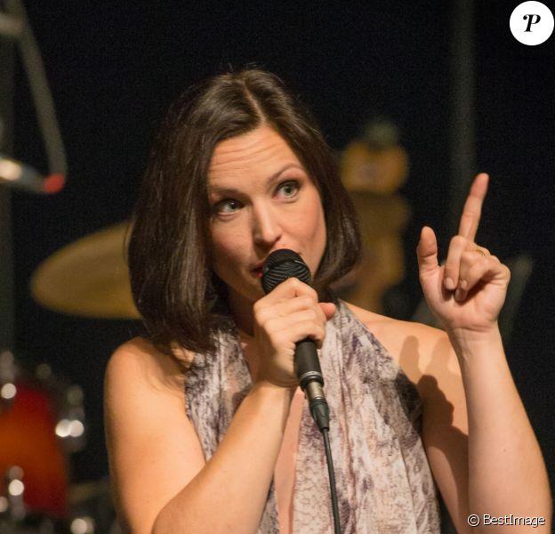 Exclusif - Concert de Natasha St-Pier au casino Barrière de Lille, le 16 décembre 2016.