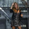 Gisele Bündchen assiste à la soirée d'inauguration du nouveau magasin Rosa Cha à Oscar Freire Street à São Paulo. Le 16 août 2017.