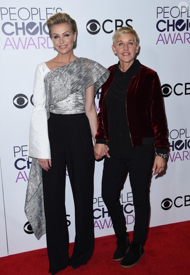 Ellen degeneres 9 ans de mariage avec portia de rossi for Ellen degeneres and portia de rossi story