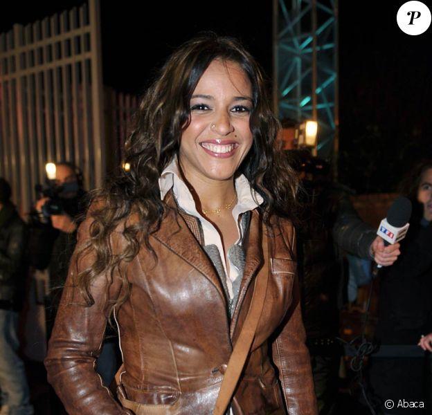Lundi 8 février 2009, générale de la comédie musicale Cléopâtre, la dernière reine d'Egypte : Nâdiya