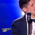 "Thibault - ""The Voice Kids"" saison 4. Sur TF1 le 2 septembre 2017."