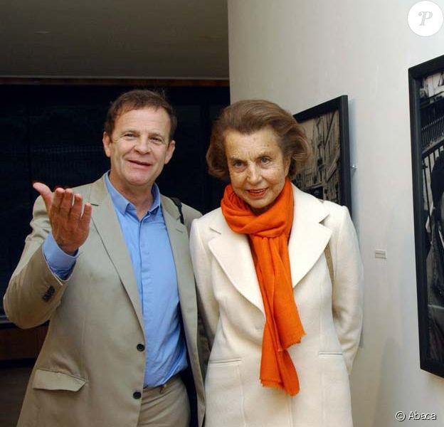 François-Marie Banier et Liliane Bettencourt, en Allemagne, le 13 juin 2004.