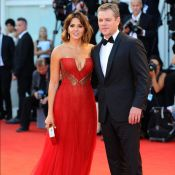 Matt Damon et Luciana : Couple divin devant la magnétique Anna Mouglalis