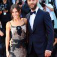 Alessandro Borghi et Roberta Pitrone - Première du film Downsizing lors de la cérémonie d'ouverture du 74e festival de Venise le 30 aout 2017.