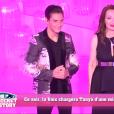 """Julie et Bryan, candidats de """"Secret Story 11"""" (TF1 et NT1)."""