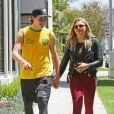 Chloë Grace Moretz et son compagnon Brooklyn Beckham à Beverly Hills. Le 30 juin 2016.