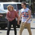 Exclusif - Brooklyn Beckham et sa petite amie Chloë Grace Moretz à Beverly Hills. Le 19 mai 2016.