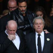 Obsèques de Mireille Darc : Alain Delon effondré mais soutenu par Anthony