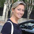 """Anne-Sophie Lapix - Arrivées des invités à l'émission """"Vivement dimanche prochain"""" de Michel Drucker à Paris le 28 septembre 2016. © Agence / Bestimage"""