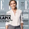 Anne-Sophie Lapix en couverture du magazine ELLE en kiosques le 1er septembre 2017