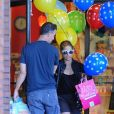 """Sarah Michelle Gellar avec son mari Freddie Prinze Jr.18/09/2016 - Los Angeles"""