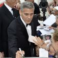 George Clooney - Les Célébrités arrivent à la première du film Suburbicon lors du 74ème Festival International du Film de Venise (Mostra) le 2 septembre 2017.