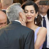 Amal et George Clooney : Baisers complices pour leur retour sur le tapis rouge