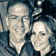 Troy Aikman et Capa Mooty, photo Instagram du 25 août 2017, à une semaine de leur mariage.