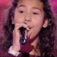 Bettysam, Tiny et Sahna dans The Voice Kids 4 le 16 septembre 2017 sur TF1.