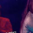 Swing, Monica et Cassidy dans The Voice Kis 4 le 16 septembre 2017 sur TF1.