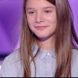 Lou, Cyril et Dylan dans The Voice Kids 4 sur TF1, le 16 septembre 2017.