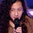"""Nawel, Océane et Amandine dans """"The Voice Kids 4"""" le 16 septembre 2017 sur TF1."""