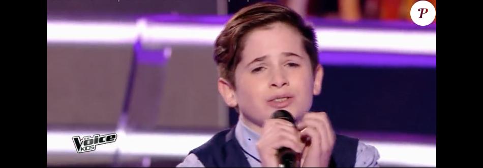 """Pauline, Thibault et Clarisse dans """"The Voice Kids 4"""" le 16 septembre 2017 sur TF1."""