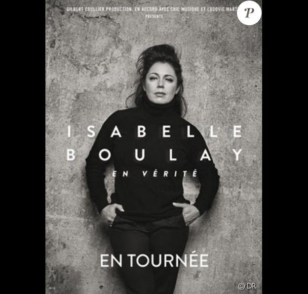 Isabelle Boulay en tournée, dans toute la France jusqu'au 21 décembre 2017. Elle sera le 18 octobre à l'Olympia de Paris.