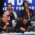Bruce Willis, Jourdan Dunn, Al Pacino au téléthon Hand in Hand organisé au profit des victimes des ouragans Harvey et Irma le 12 septembre 2017