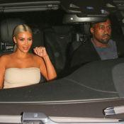 Kim Kardashian : Blonde lookée pour un rencard remarqué avec Kanye West