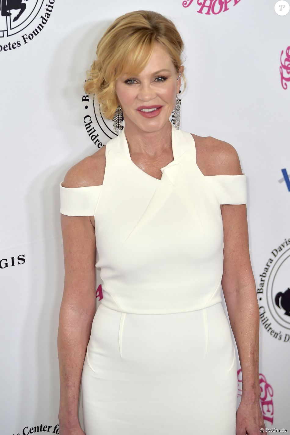 Melanie Griffith à la soirée caritative Carousel Of Hope 2016 à Los Angeles, le 8 octobre 2016 © Future-Image via Zuma/Bestimage