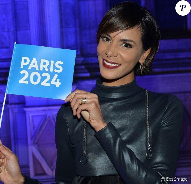 """Exclusif - Shy'm - Concert """"Paris, À nous les Jeux!"""" pour fêter l'attribution des Jeux Olympiques et Paralympiques d'été 2024 sur la place de l'hôtel de ville de Paris, France, le 15 septembre 2017. © Veeren/Bestimage"""