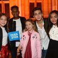 """Exclusif - Kids United - Concert """"Paris, À nous les Jeux!"""" pour fêter l'attribution des Jeux Olympiques et Paralympiques d'été 2024 sur la place de l'hôtel de ville de Paris, France, le 15 septembre 2017. © Veeren/Bestimage"""