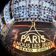"""Exclusif - Illustration - Concert """"Paris, À nous les Jeux!"""" pour fêter l'attribution des Jeux Olympiques et Paralympiques d'été 2024 sur la place de l'hôtel de ville de Paris, France, le 15 septembre 2017. © Veeren/Bestimage"""