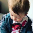 Jules, le dernier fils de Nicola Sirkis sur Intagram, en avril 2017.