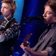 """Anagram lors de la demi-finale de """"The Voice Kids 4"""" (TF1), le 23 septembre 2017."""