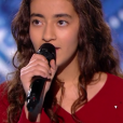 "Betyssam lors de la demi-finale de ""The Voice Kids 4"" (TF1), le 23 septembre 2017."