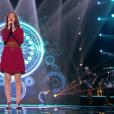 """Betyssam lors de la demi-finale de """"The Voice Kids 4"""" (TF1), le 23 septembre 2017."""