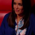 """Jenifer lors de la demi-finale de """"The Voice Kids 4"""" (TF1), le 23 septembre 2017."""