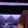 "M. Pokora lors de la demi-finale de ""The Voice Kids 4"" (TF1), le 23 septembre 2017."