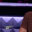 """M. Pokora lors de la demi-finale de """"The Voice Kids 4"""" (TF1), le 23 septembre 2017."""