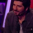 """Patrick Fiori lors de la demi-finale de """"The Voice Kids 4"""" (TF1), le 23 septembre 2017."""