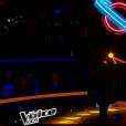 """Thibault lors de la demi-finale de """"The Voice Kids 4"""" (TF1), le 23 septembre 2017."""
