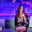 """Julie lors de la quotidienne de """"Secret Story 11"""" (NT1), le 21 septembre 2017."""