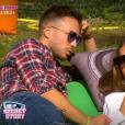 """Benoît et Kamila lors de la quotidienne de """"Secret Story 11"""" (NT1), le 21 septembre 2017."""