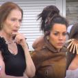 """Tanya, Laura et Kamila lors de la quotidienne de """"Secret Story 11"""" (NT1), le 21 septembre 2017."""