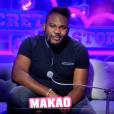 """Makao lors de la quotidienne de """"Secret Story 11"""" (NT1), le 21 septembre 2017."""