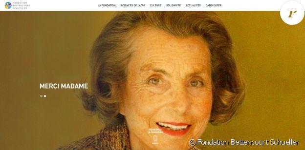 """""""Merci madame"""", l'hommage de la Fondation Bettencourt Schueller à Liliane Bettencourt suite à sa mort survenue le 21 septembre 2017."""