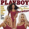 Pamela Anderson pour le magazine  Playboy , juin 1998