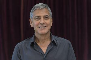 George Clooney admiratif devant Amal qui