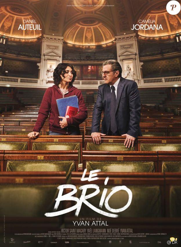 Affiche du film Le Brio, en salles le 22 novembre 2017