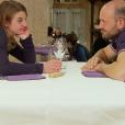 """""""Nathalie et Victor - """"L'amour est dans le pré 2017"""" sur M6. Le 11 septembre 2017."""""""