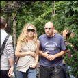"""""""Sarah Jessica Parker et Willie Garson sur le tournage de """"Sex and The City"""" à New York le 1er octobre 2007."""""""